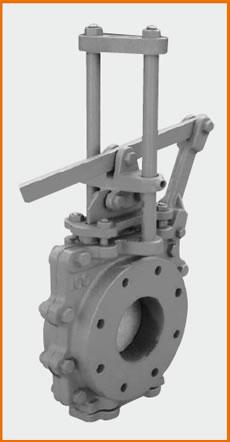 急開レバー式ショート型板弁 底フタ付 S−113