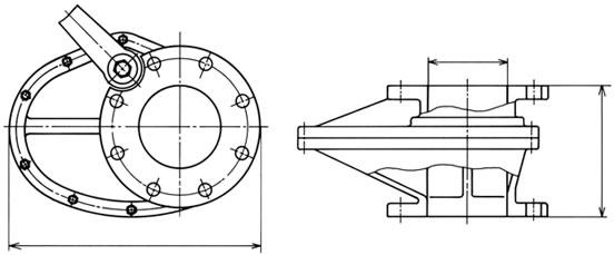 設計図 ワンタッチゲートバルブ S−3788