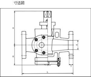 寸法図 セミジャケットコック S−701
