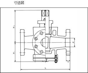寸法図 セミジャケットコック S−702
