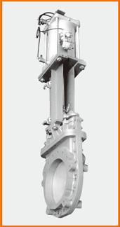 ナイフゲートバルブ エアーシリンダー操作 オール附属品付 S−122044