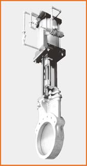 ナイフゲートバルブ エアーシリンダー操作 オール附属品付 S−12204