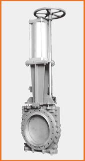 ショート型板弁 手動兼エアーシリンダー操作 S−10701
