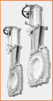 ショート型板弁 手動兼エアーシリンダー操作 スピコン、エアーセット付 S−10705