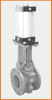 ロング型板弁 エアーシリンダー操作 S−106