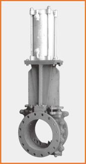 切断弁座板弁 エアーシリンダー操作 スピコン付 S−181