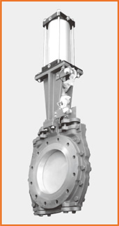 ショート型板弁 エアーシリンダー操作 リミットスイッチ付 S−1073