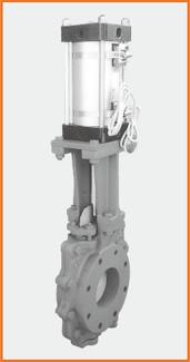 ショート型板弁 エアーシリンダー操作 リードスイッチ付S−1076