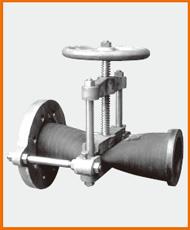 S-151片フランジ型ピンチ弁 S−15101