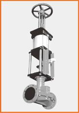 手動兼単動シリンダー操作 トップハンドルタイプ 電磁弁、エアー3点セット付 S−1525