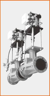 エアーシリンダー操作 電空ポジショナー付 S−1527