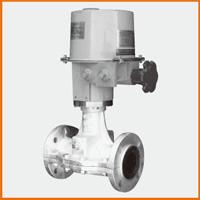 電動式カバー付ピンチ弁 小型モーター型 S−1503