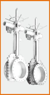電動式ロング型板弁 S−1091 SS型