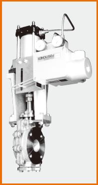 コントロール板弁 電空ポジショナー式 S−9938