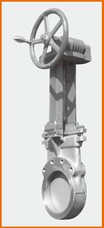 ギア式ナイフゲート弁 S−1215