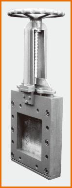手動式角型板弁 S−203