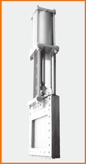 角型板弁 エアーシリンダー操作 S−2032