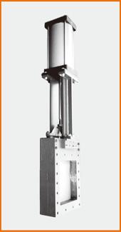 角型板弁 エアーシリンダー操作 S−2031