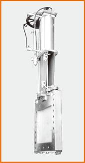角型板弁 エアーシリンダー操作 S−20323